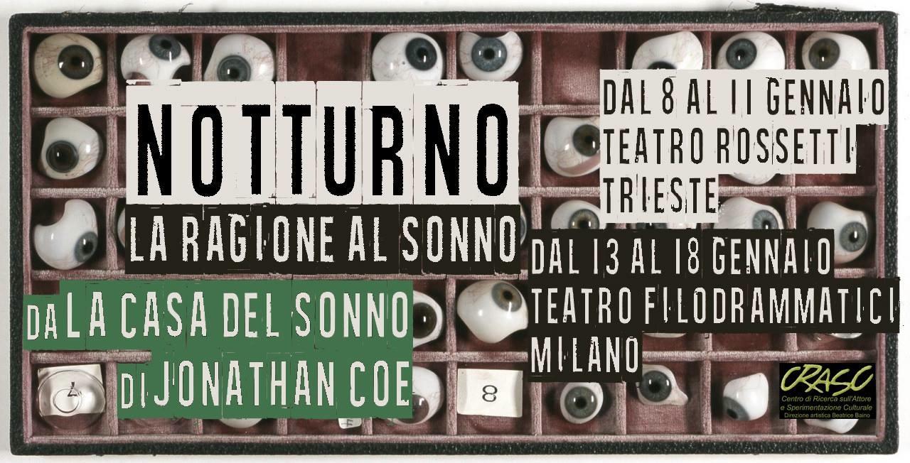 Notturno – La Ragione al Sonno debutta a Trieste
